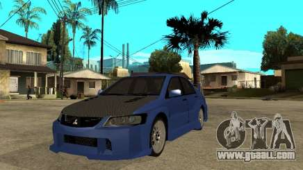 Mitsubishi Lancer EVO VIII Tuned for GTA San Andreas
