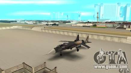 "Su-47 ""berkut"" Anime for GTA San Andreas"