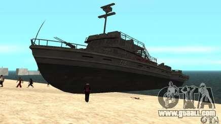 Boat for GTA San Andreas