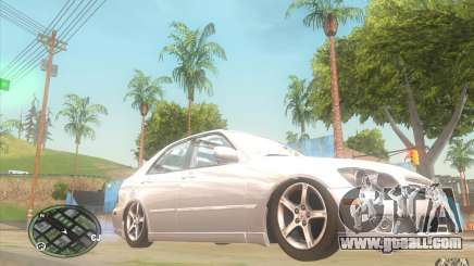 Lexus IS300 Light Tuning for GTA San Andreas