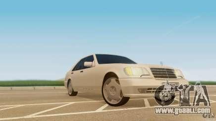 Mercedes-Benz 500SE for GTA San Andreas