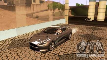 Aston Martin Virage V1.0 for GTA San Andreas
