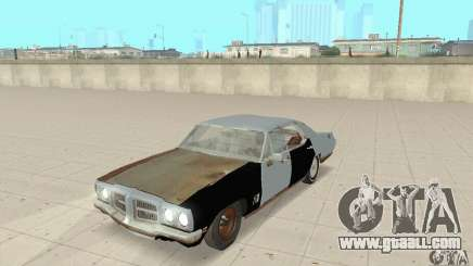 Pontiac LeMans 1970 Scrap Yard Edition for GTA San Andreas