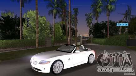 BMW Z4 2004 for GTA Vice City