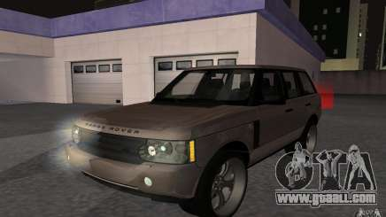 Land Rover Supercharged for GTA San Andreas