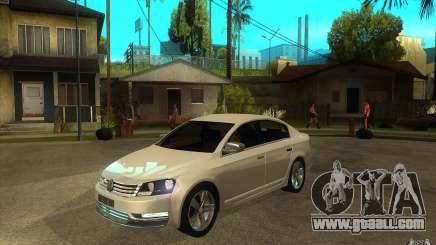 Volkswagen Passat 2.0 TDI Bluemotion 2011 for GTA San Andreas