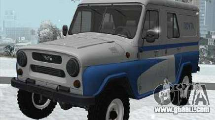 UAZ-469P for GTA San Andreas