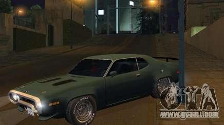 Plymouth Roadrunner for GTA San Andreas