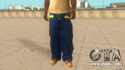 Karl Kan Puzzle Jeans for GTA San Andreas