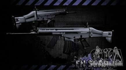 FN Scar-L HD for GTA San Andreas