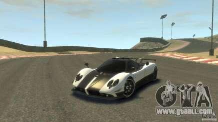 Pagani Zonda Cinque 2009 for GTA 4
