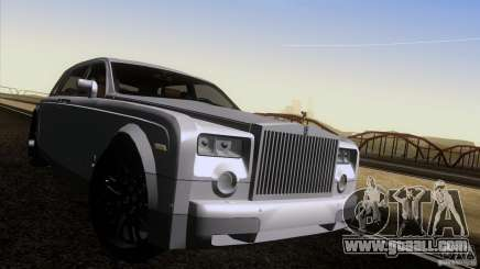 Rolls Royce Phantom Hamann for GTA San Andreas