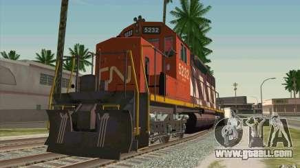 CN SD40 ZEBRA STRIPES for GTA San Andreas