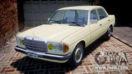 Mercedes-Benz 230E 1976 for GTA 4