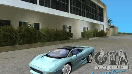 Jaguar XJ220 for GTA Vice City