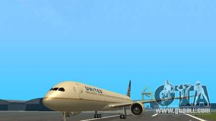 Boeing 787 Dreamliner United Airlines for GTA San Andreas