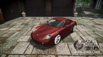 Porsche Cayman S v1 for GTA 4