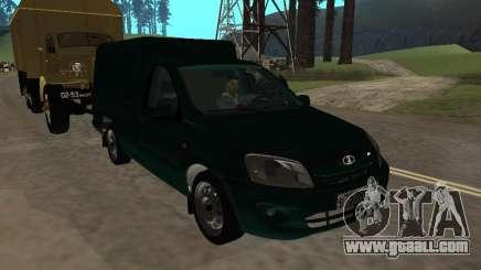 VAZ 2190 Heel for GTA San Andreas