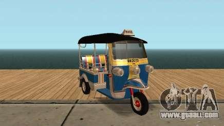 Tuk Tuk Thailand for GTA San Andreas