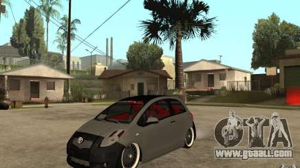 Toyota Yaris II Custom for GTA San Andreas