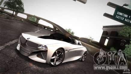 BMW Vision Connected Drive Concept for GTA San Andreas