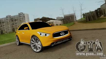 Infiniti FX37 v1 for GTA San Andreas