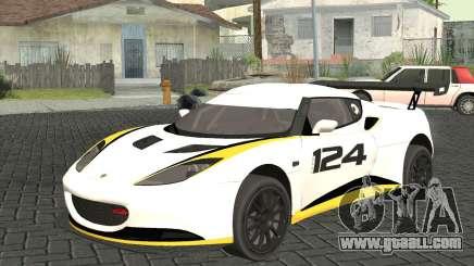 Lotus Evora Type 124 for GTA San Andreas