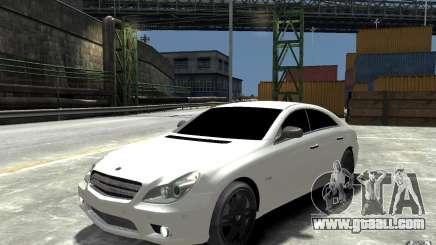 Mercedes Benz CLS Brabus Rocket 2008 for GTA 4