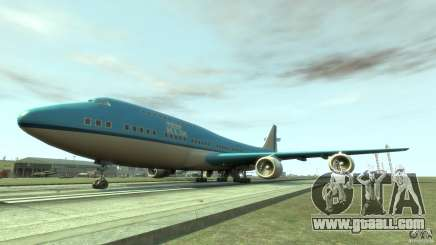 Real KLM Airplane Skin for GTA 4