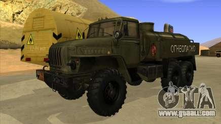 Ural 4320 Truck for GTA San Andreas