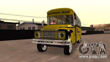 Bedford School Bus for GTA San Andreas