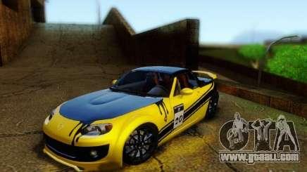 Mazda MX-5 2007 for GTA San Andreas