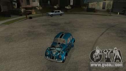 VW Fusca Gremio for GTA San Andreas