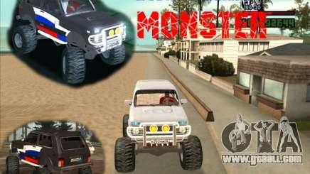 VAZ-21213 4x4 Monster for GTA San Andreas