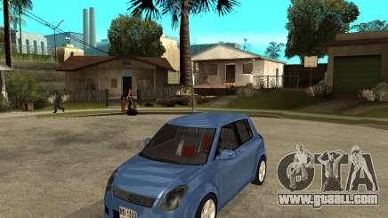 2007 Suzuki Swift for GTA San Andreas