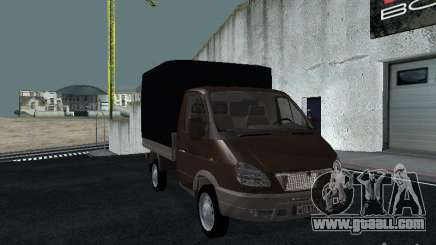 GAS Sable 2310 onboard for GTA San Andreas
