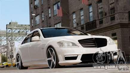 Mercedes-Benz S65 W221 AMG Vossen for GTA 4