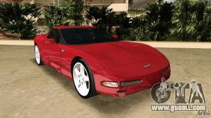 Chevrolet Corvette Z05 for GTA Vice City