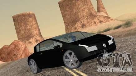 Renault Vel Satis for GTA San Andreas