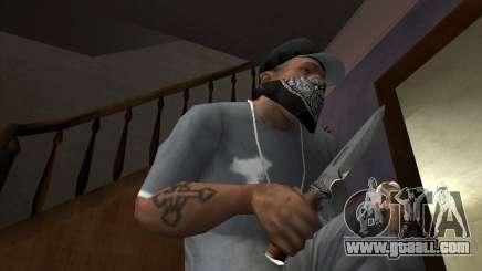Hunting blade for GTA San Andreas