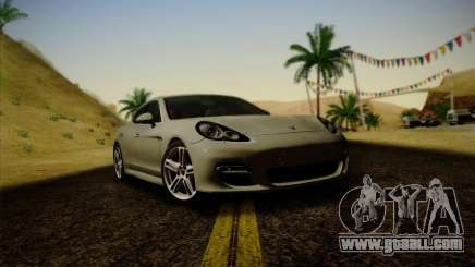 Porsche Panamera Turbo 2010 for GTA San Andreas