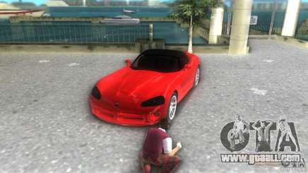 Dodge Viper SRT 10 Coupe for GTA Vice City