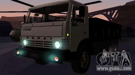 KAMAZ 53212 open for GTA San Andreas