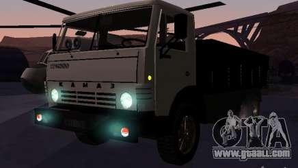 KAMAZ 53212 open for GTA San Andreas