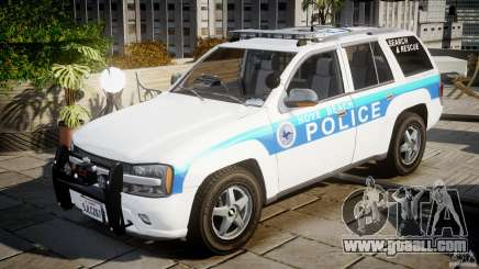 Chevrolet Trailblazer Police V1.5PD [ELS] for GTA 4
