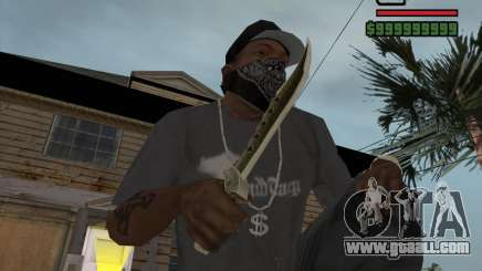 Steep Knife for GTA San Andreas