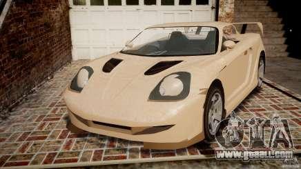Toyota MR-S v1.1 for GTA 4
