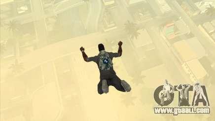 Parachute Rockstar (camouflage) for GTA San Andreas