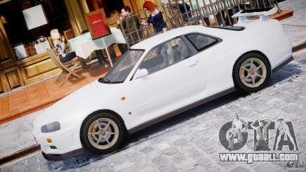 Nissan Skyline GT-R 34 V-Spec for GTA 4