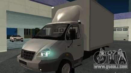 33102 Valday GAZ (long) for GTA San Andreas